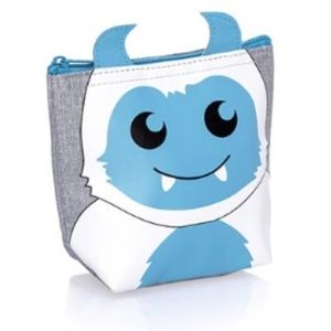 Thirty-One Gifts Snowmonster Thermal Pouch NWT NIB